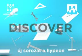 Discover cikksorozat a Hype and Hyperen Puskás Marcell